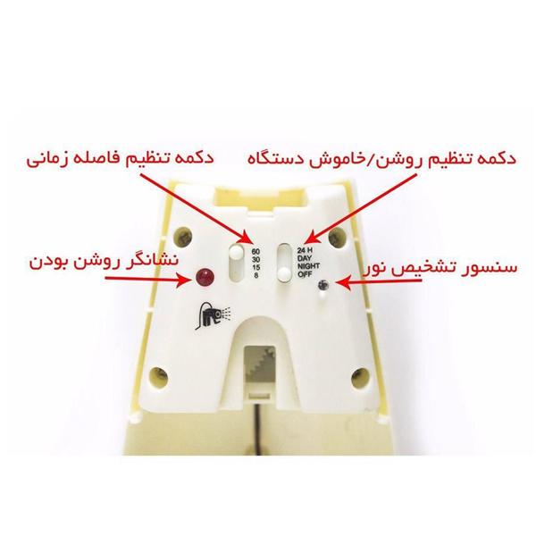 Untitle2d 1 - دستگاه خوشبو کننده هوا GXTطرح گلدانی مدل ۱۰۵