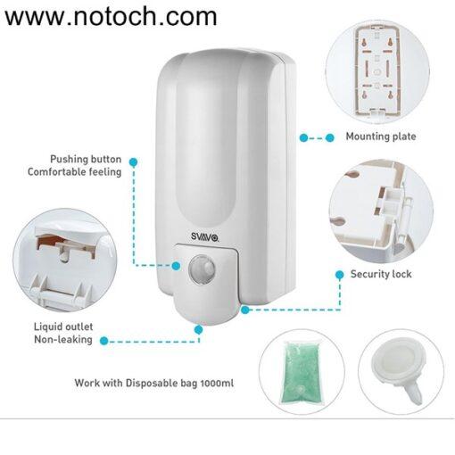 U55ntitled 1 510x510 - مخزن مایع دستشویی دیواری اسواوو مدل V730