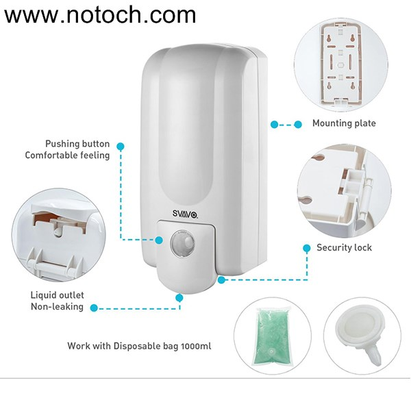 U55ntitled 1 - مخزن مایع دستشویی دیواری اسواوو مدل V730