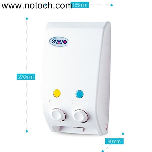Untitl55ed 1 - مخزن مایع دستشویی ۲قلو اسواوو مدل V102